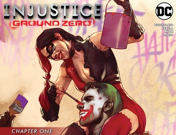 Injustice Ground Zero Comic Harley Quinn DC Comics