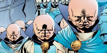 Watchers as seen in the Marvel comics.