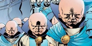 Watchers as seen in the Marvel comics.