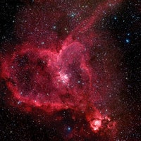 The Heart Nebula Creates a Loving Home for Baby Stars