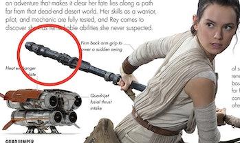 Star Wars Rey Quarterstaff Lightsaber