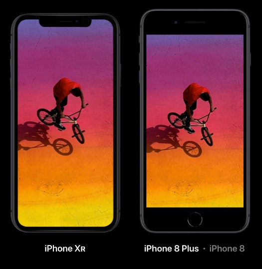 iphone xr 8 plus apple compared