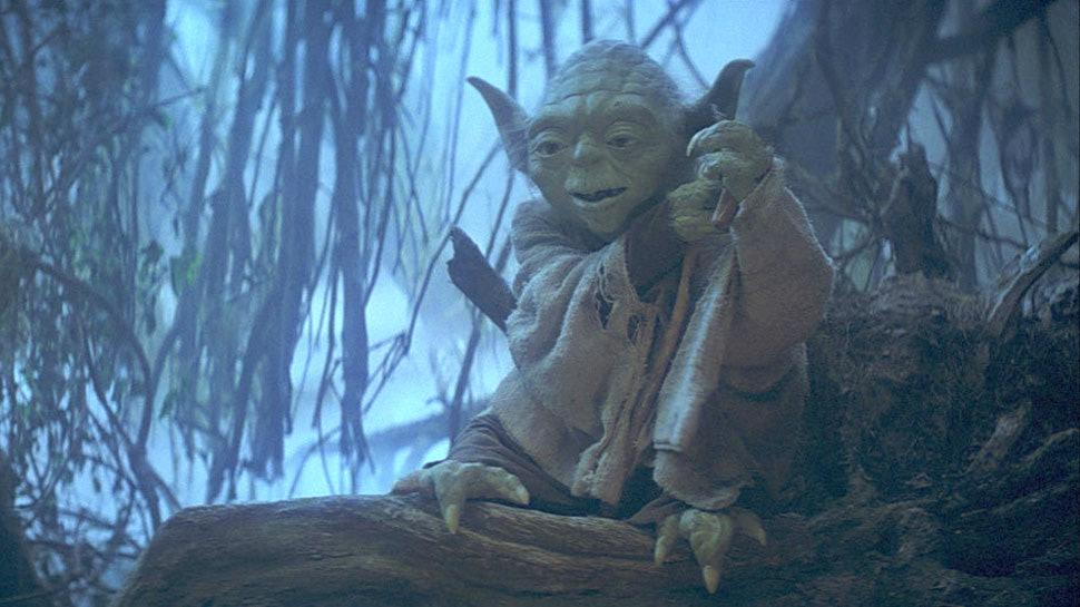 Yoda in 'The Empire Strikes Back'