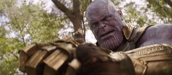 Thanos in 'Avengers: Infinity War'.