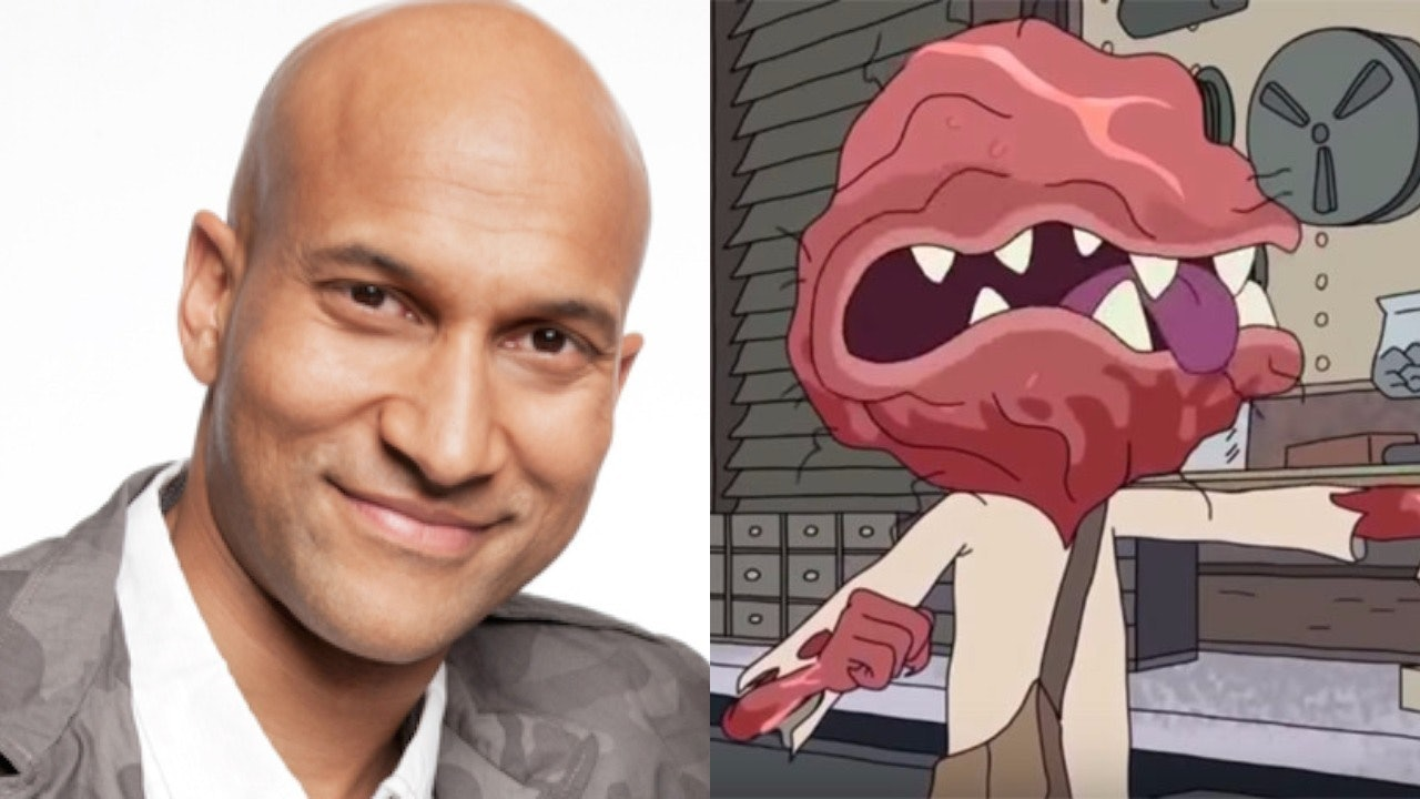 Keegan-Michael Key is the 5th Dimension Testicle Monster #1.
