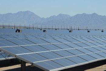 solar plant Mojave Desert