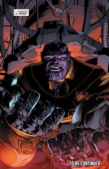 Thanos Comic Infinity War