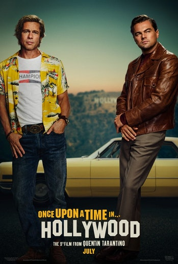 Once Upon a Time in Hollywood Quentin Tarantino Leonardo DiCaprio