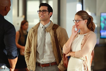 Kara Danvers and Clark Kent in the Season 2 premiere of 'Supergirl