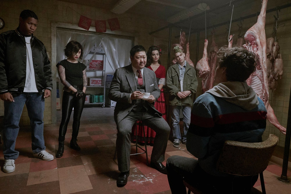 Deadly Class Master Lin invites Marcus