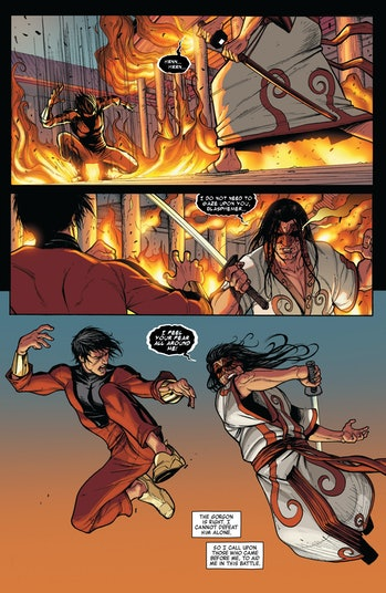 Shang-Chi Avengers World