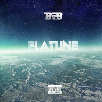 Album cover of B.o.B's album, Flatline
