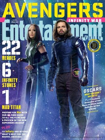 Avengers Infinity War Winter Soldier