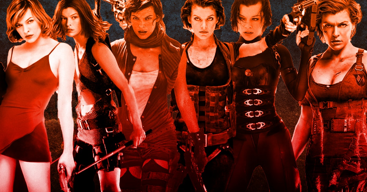 Resident Evil Oral History Jovovich And Anderson On Zombie Series