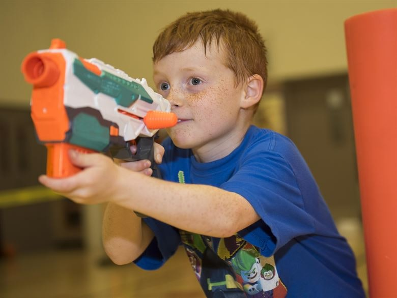 Family Nerf night fosters advocacy > Air Force Medical Service ...