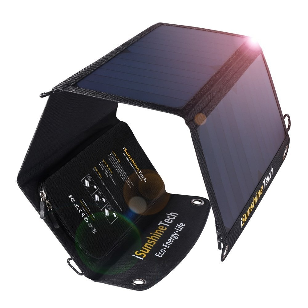 foldable solar charger