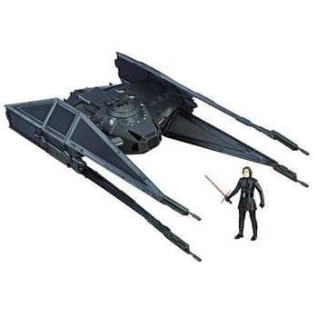 Kylo Ren's TIE Silencer sounds quite menacing.