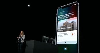 iOS 12 in action.