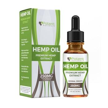 Potent Naturals Hem Oil Drops