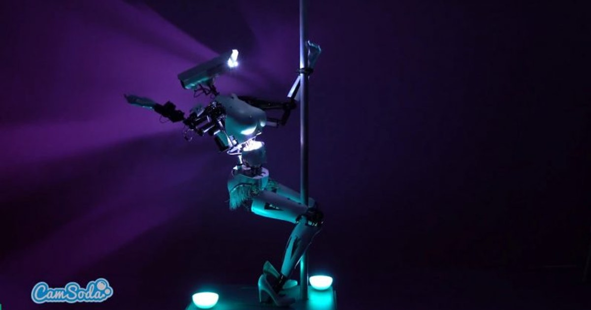 Robot Erotic Dancers Became a Thing and They're Learning How to Flirt
