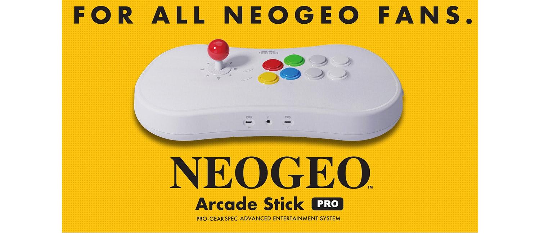 SNK Neo Geo Arcade Stick