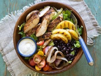 GrilledJerk Chicken Salad