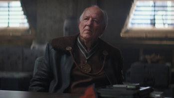 Werner Herzog in 'The Mandalorian'