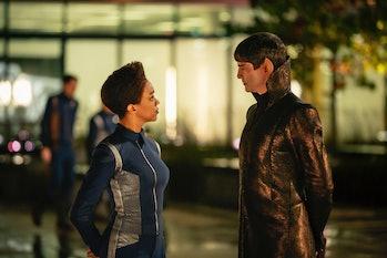 Burnham and Sarek in 'Discovery'