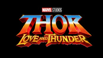 thor love and thunder logo