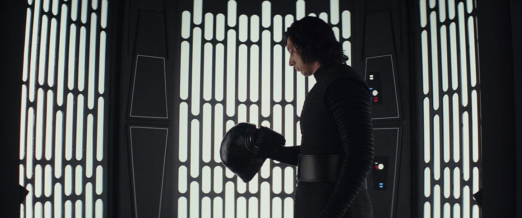 Adam Driver in 'Star Wars: The Last Jedi'