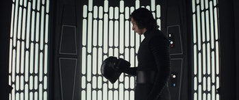 Adam Driver in 'Star Wars: The Last Jedi'