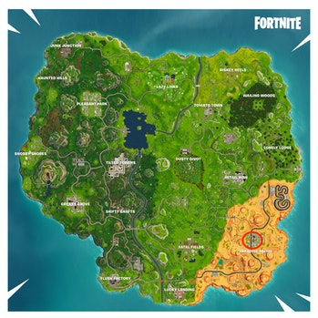 Pool locations in Paradise Palms