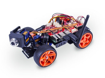 ThePiCar-V, powered with Raspberry Pi.