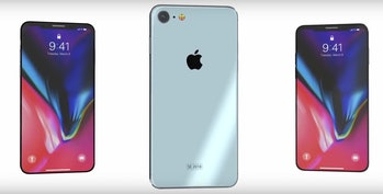 unofficial renders of the iPhone SE 2