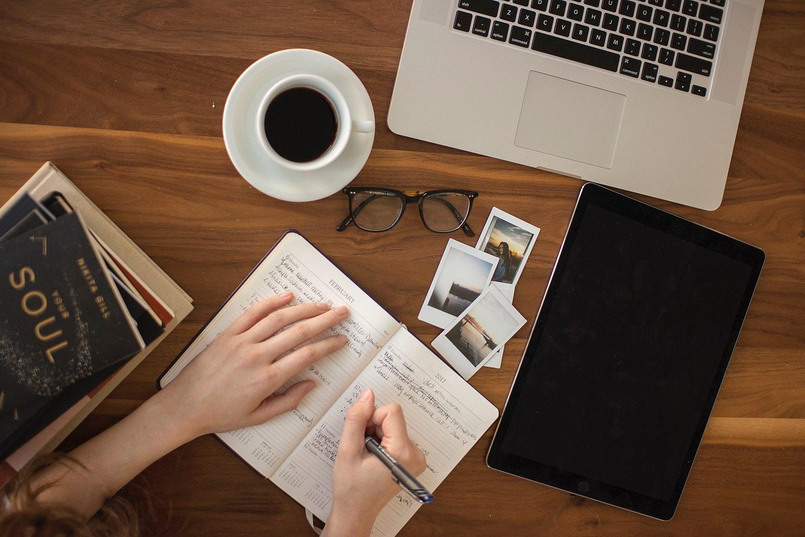 journaling, write