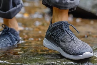 Vessie Waterproof Sockless Sneakers