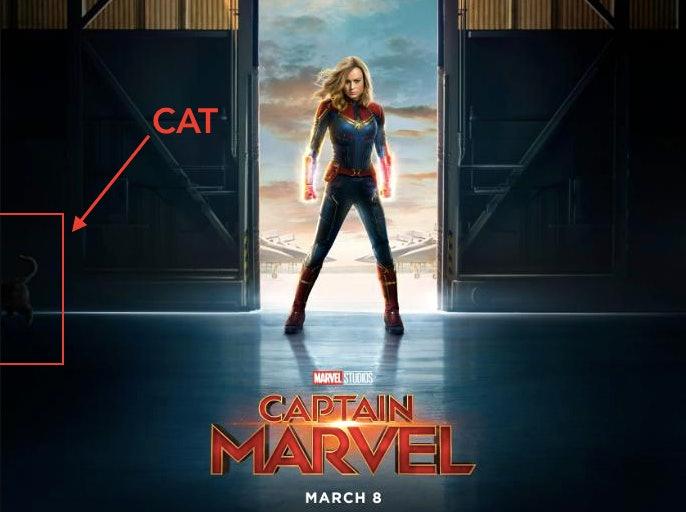 'Captain Marvel' Chewie Easter Egg