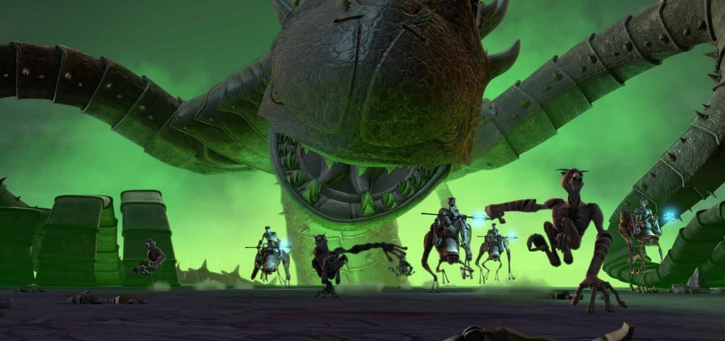 Here's another ZIllo Beast in 'The Clone Wars'