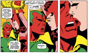 Marvel Scarlet Witch Vision Avengers