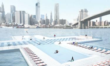 pool, East River