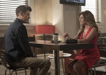 Barry meets with Rebecca Sharpe, aka Hazard.