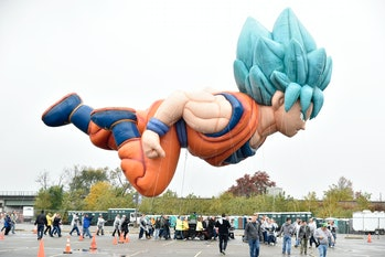 Goku Macy's thanksgiving Day Parade Balloon