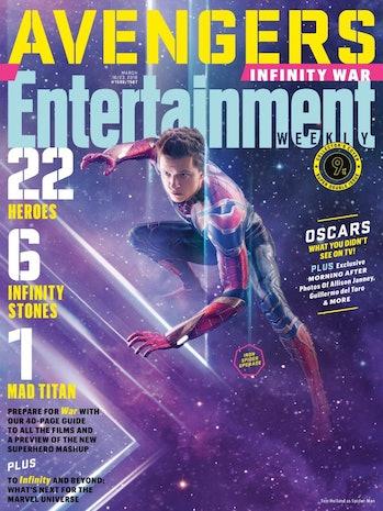 Avengers Spider-Man Infinity War