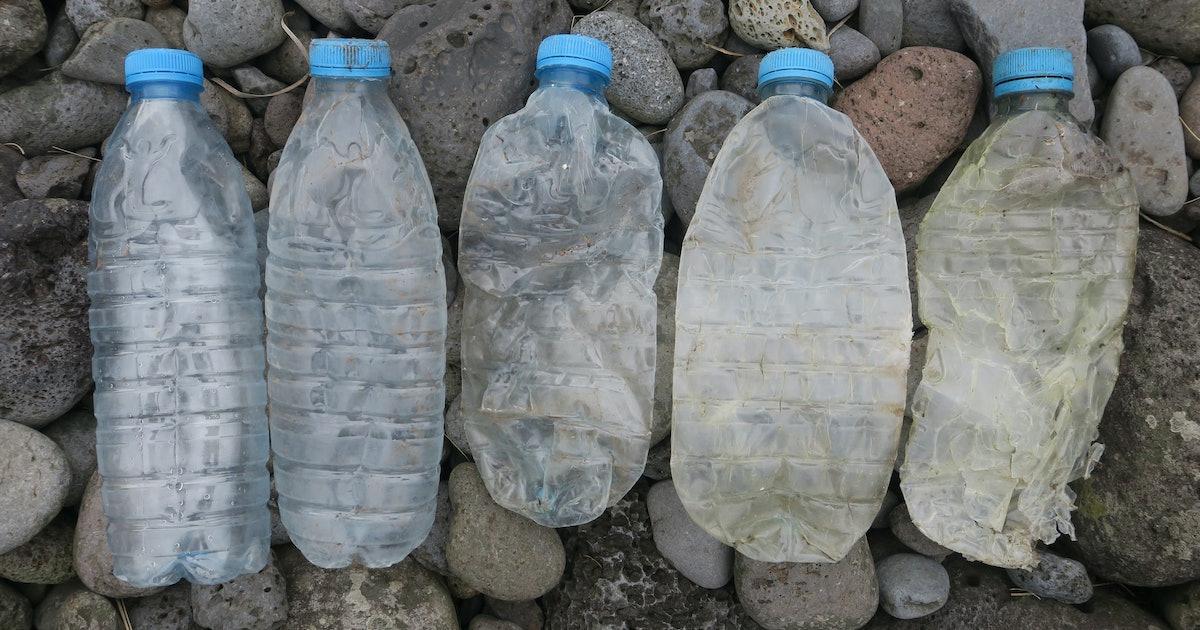Shocking amounts of plastic smother this uninhabited island in the Atlantic