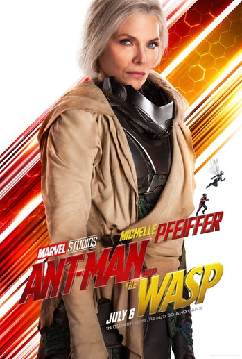 Michelle Pfeiffer as Janet Van Dyne in 'Ant-Man and the Wasp'.