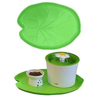 Pet Standard Premium Green Leaf Food Mat
