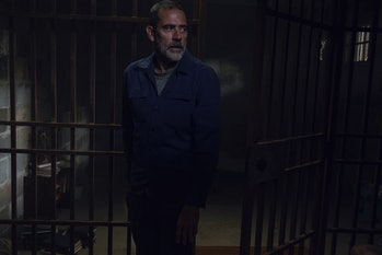 walking dead midseason finale evolution season 9 episode 8 negan jeffrey dean morgan