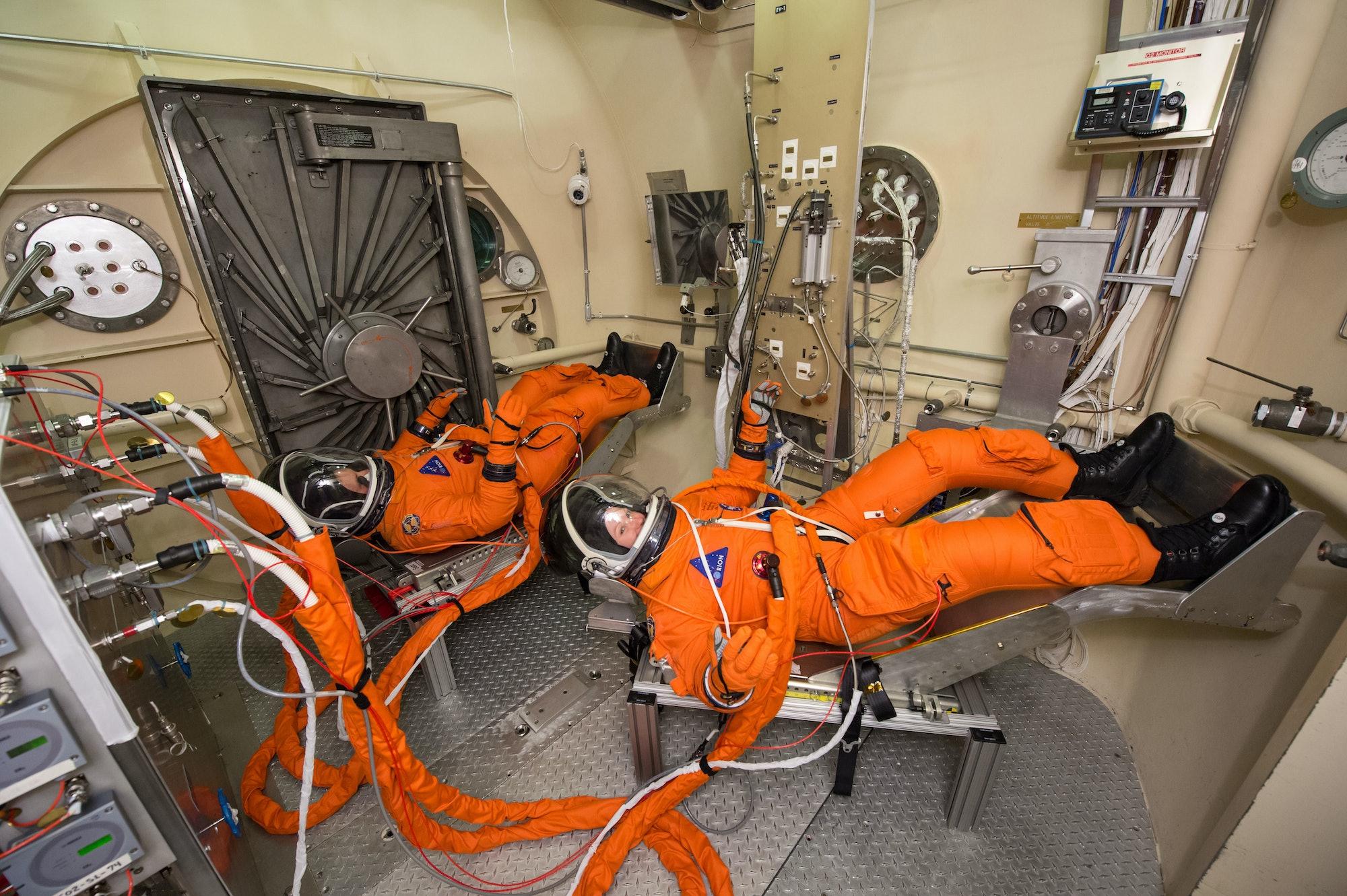 NASA deep space spacesuit