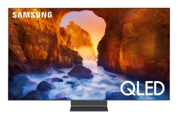 Samsung QN65Q90RAFXZA Flat 65-Inch QLED 4K Q90 Series Ultra HD Smart TV with HDR and Alexa Compatibility (2019 Model)
