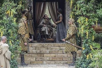 Alexander Siddig and Indira Varma on 'Game of Thrones'